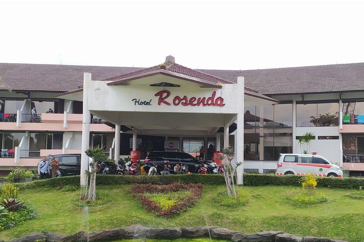 Hotel Rosenda Baturraden, Kabupaten Banyumas, Jawa Tengah, akan dijadikan rumah sakit darurat Covid-19.