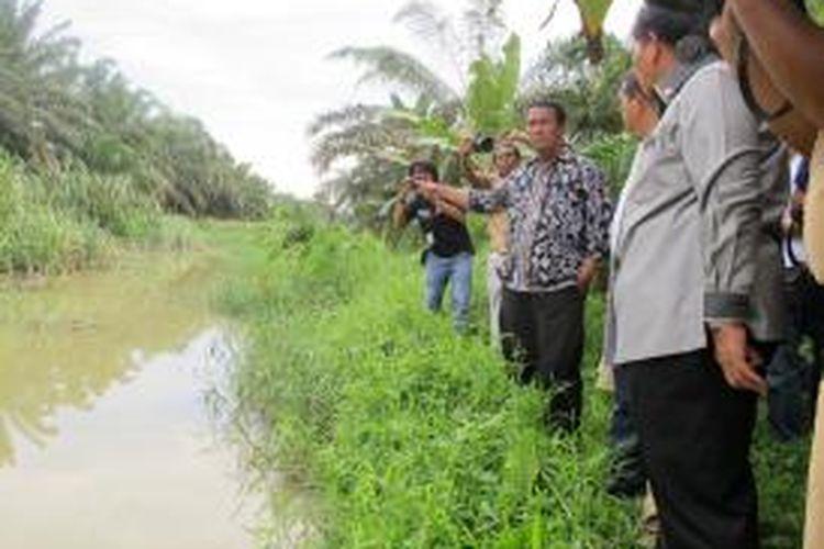 Menteri Pertanian (Mentan) Andi Amran Sulaiman melakukan Memorandum of Understanding (MoU) dengan Pemerintah Daerah Sumatera Utara (Sumut) terkait pertanian dan rehabilitasi saluran irigasi.