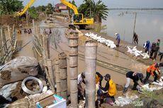 Tanggul Jebol yang Sebabkan Banjir di Kudus Mulai Diperbaiki