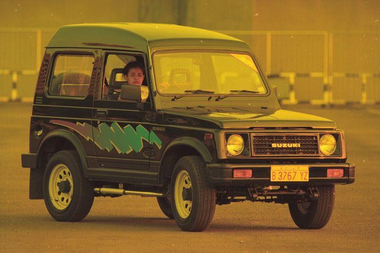Ilustrasi Suzuki Katana saat awal meluncur