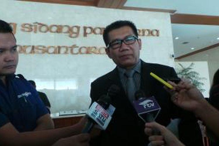 Ketua Komisi II DPR dari Fraksi Partai Golkar Agun Gunanjar