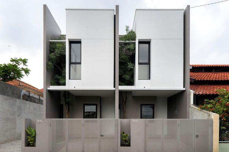 R Micro Housing dirancang Simple Projects Architecture di Surabaya, Jawa Timur.