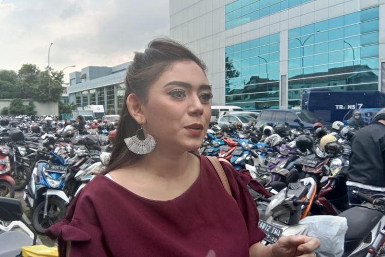 Thalita Latief di Gedung TransTV, Mampang Prapatan, Jakarta Selatan, Rabu (5/12/2018).