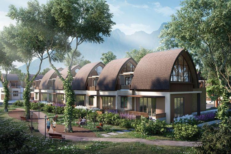 PT Agung Podomoro Land Tbk kembangkan Vimala Hills, Bogor, Jawa Barat.