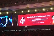 Megawati di HUT PDI-P: Saya Senang Pak Prabowo Hadir...