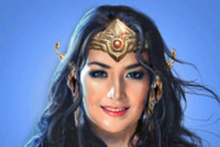 Karakter Sri Asih dalam komik Bumilangit. Sri Asih akan diangkat ke layar lebar dan diperankan Pevita Pearce.