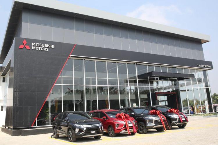 Ilustrasi dealer Mitsubishi yang baru dibuka di Palembang