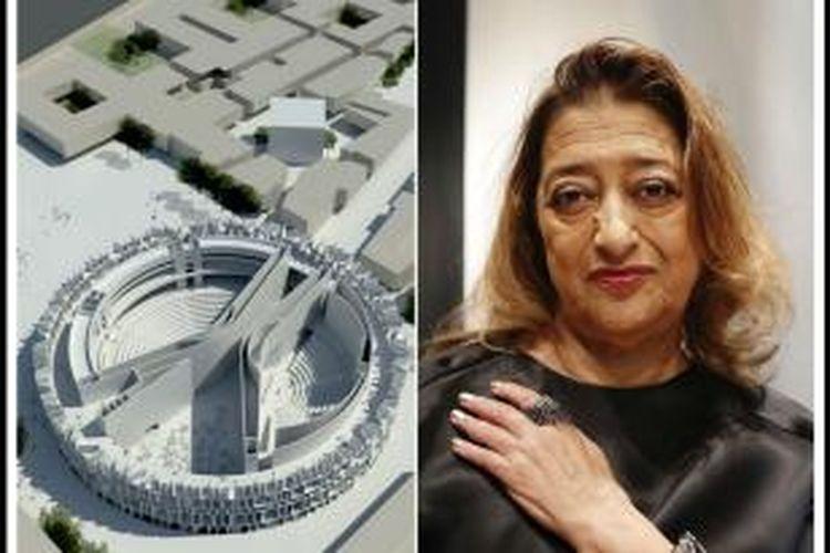 Hadid secara resmi telah menandatangani perjanjian untuk mendesain gedung parlemen negara itu di Baghdad.