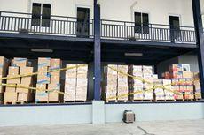 Lokasi Penyimpanan Masker yang Digerebek Polisi adalah Gudang Cargo