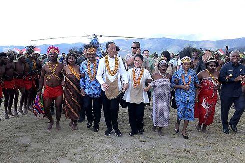 Jokowi: Kalau Papua Komitmen atas Persatuan, Kesejahteraan akan Diperoleh