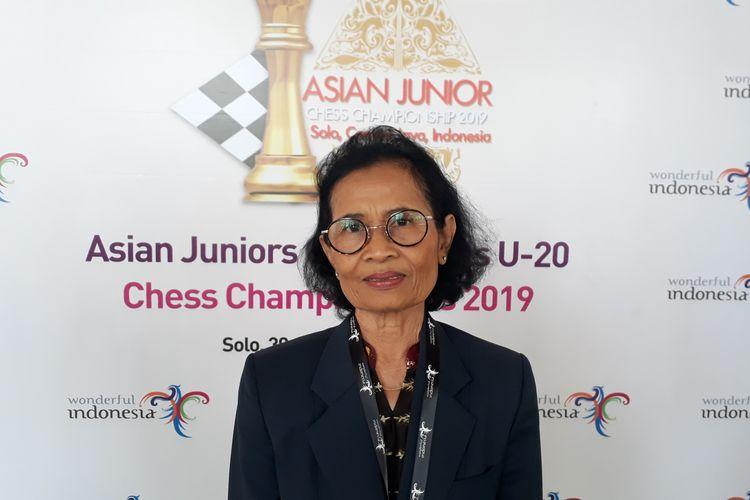 Ketua Pelaksana Turnamen Catur Asian Juniors Open & Girls U-20 2019, Dwi Hatmisari, saat ditemui Kompas.com di Hotel Lorin Solo, Selasa (2/7/2019).