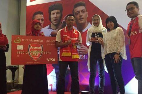 Kartu Debit Edisi Arsenal Dirilis Bank Muamalat