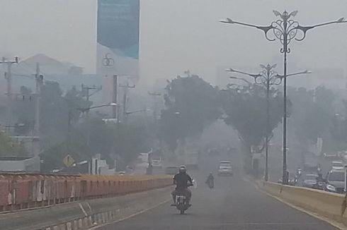 12 Orang Jadi Korban Asap Karhutla Riau, Mayoritas Anak-anak dan Ibu Menyusui