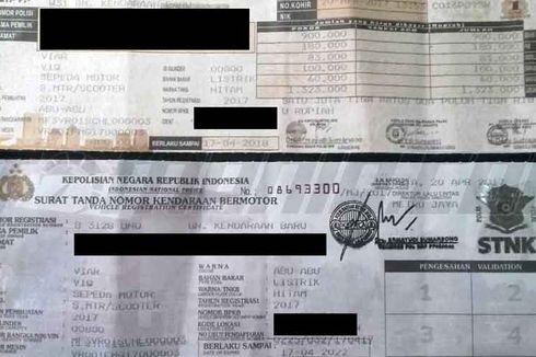 STNK Berbentuk Kartu, Bisa Dipakai Jadi Alat Pembayaran