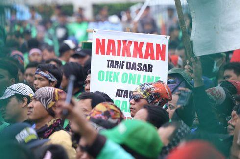 Ojek Online Ancam Demo jika Usulan Tarif Rp 3.000/Km Tak Dipenuhi