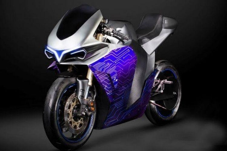 Motor listrik konsep buatan Emula Electric Motorcycle