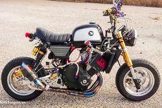 Modifikasi Honda Monkey Berjantung 250cc 4-Silinder