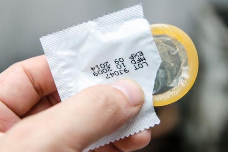 Ilustrasi Kondom.