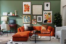 6 Inspirasi Warna Dinding Aksen untuk Setiap Ruangan