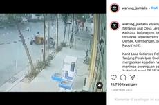 Viral, Video Motor Tabrak Pejalan Kaki Saat Menyeberang di Zebra Cross