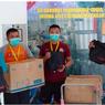 Priskila Donasi Paket Wewangian untuk Nakes di RS Darurat Wisma Atlet