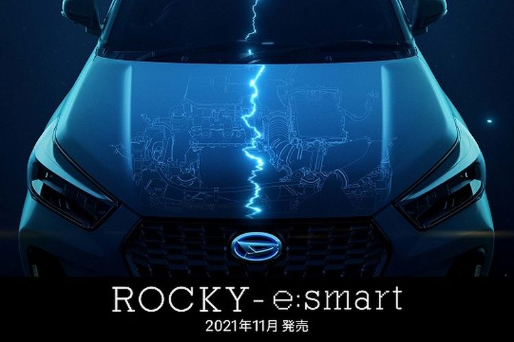Ilustrasi Daihatsu Rocky Hybrid