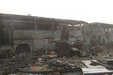 Api Padam, Puluhan Bus Hangus di Terminal Pondok Cabe