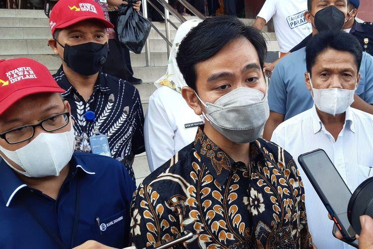 Wali Kota Solo Gibran Rakabuming Raka di Solo, Jawa Tengah, Kamis (6/5/2021).