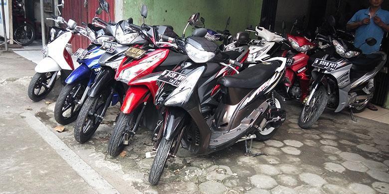 Sepeda motor bekas di Condet Jakarta TImur