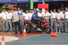Anak Sekolah Belajar Safety Riding