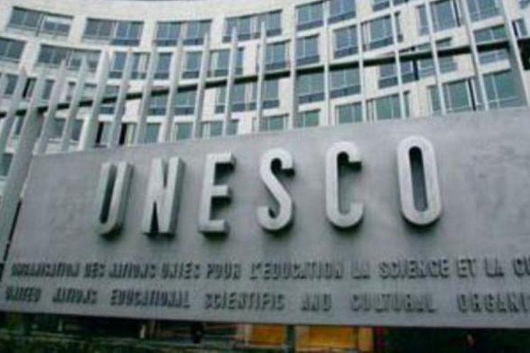 Markas besar Unesco di Paris, Perancis.