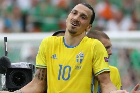 Lagu Kebangsaan Bikin Comeback Ibrahimovic di Swedia Kian Berkesan