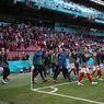 VIDEO - Kekompakan Fans Denmark dan Finlandia Mendukung Eriksen