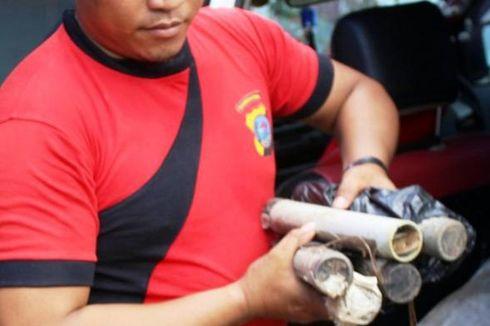 Diduga Bom Rakitan, Lima Pipa Bersumbu Diamankan