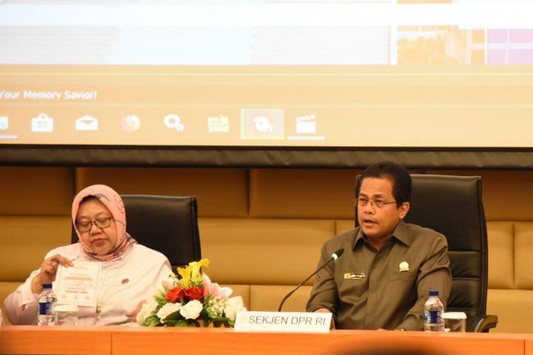 Sekretaris Jenderal DPR RI Indra Iskandar menegaskan pengamanan pada Sidang Tahunan MPR RI, Sidang Bersama DPR RI-DPD RI, dan Pidato Kenegaraan Presiden Republik Indonesia sudah disiapkan.