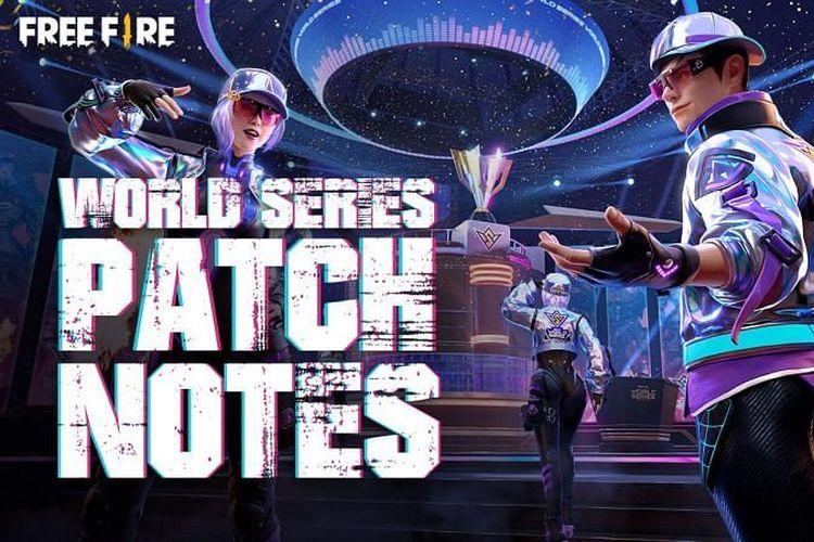 Ilustrasi pembaruan update Free Fire World Series (OB27).