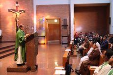 Setelah Dilantik sebagai Kardinal oleh Paus Fransiskus, Uskup Agung Jakarta Ignatius Suharyo Pimpin Misa Syukur