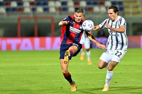Crotone Vs Juventus - Tanpa Ronaldo, Bianconeri Cuma Imbang Lawan Tim Promosi