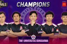 Kalahkan Wakil Binus, Tim Gunadarma Juara LIMA eSports Nationals 2020