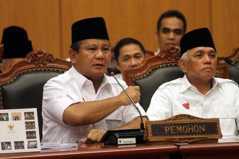 Tim Prabowo-Hatta Akui Bentuk Pansus Pilpres karena Kecewa Putusan MK