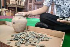 Cerita Petani Temukan Guci Berisi Ratusan Koin Seberat 2 Kilogram, Ukiran Huruf China, Diduga dari Abad Ke-16