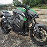 Desain Kawasaki Z1000 Dicontek Lagi, Kali Ini Jadi Motor Listrik