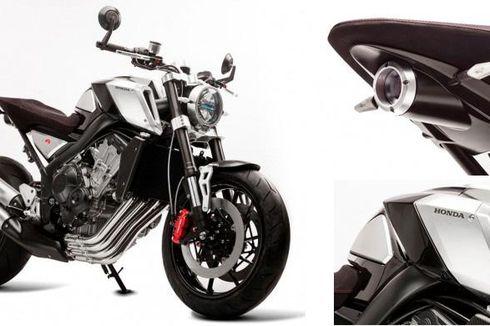 Duet Konsep Moge Retro-Modern Honda