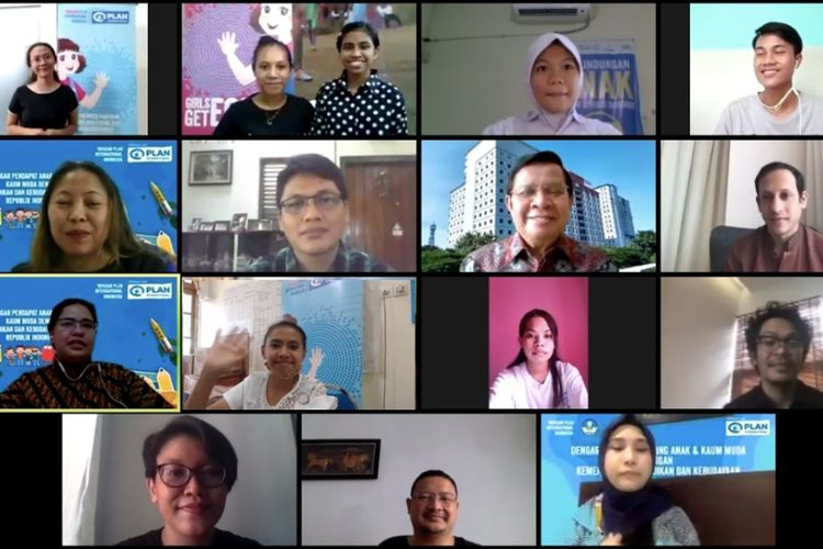 Sebanyak 50 murid dari berbagai daerah di Indonesia menyampaikan sejumlah masalah dan masukan kepada Menteri Pendidikan dan Kebudayaan (Mendikbud) Nadiem Anwar Makarim terkait proses pembelajaran pada masa pandemi Covid-19.