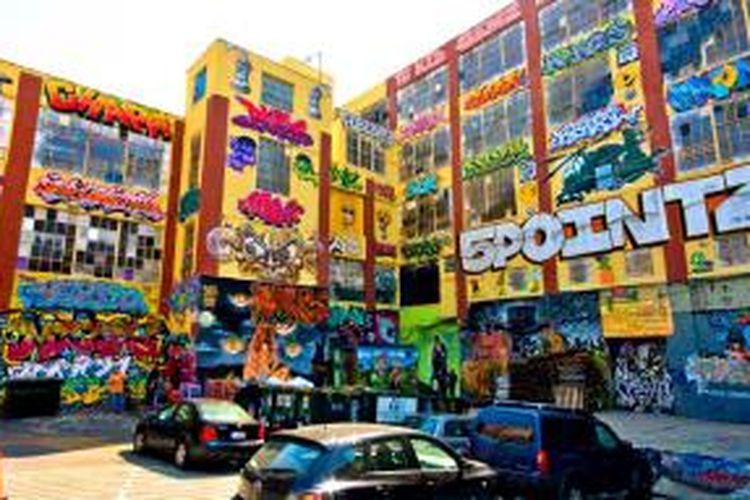 Pusat seni grafiti di Long Island, New York, ini bakal disulap menjadi dua gedung apartemen dengan harga terjangkau.