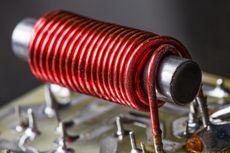 Menghitung Induksi Magnet di Pusat dan Ujung Solenoida