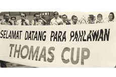 Indonesia Vs China, 5 Kali Bertemu di Final Thomas Cup, Bagaimana Skornya?