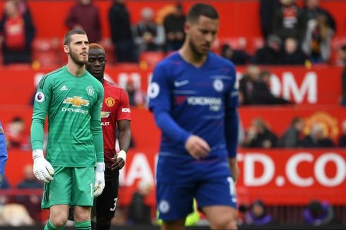 Man United Vs Chelsea Seri, David De Gea Kembali Blunder