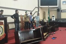 Tuntut Transparansi Anggaran Covid-19, Aksi Mahasiswa di DPRD Makassar Berujung Ricuh