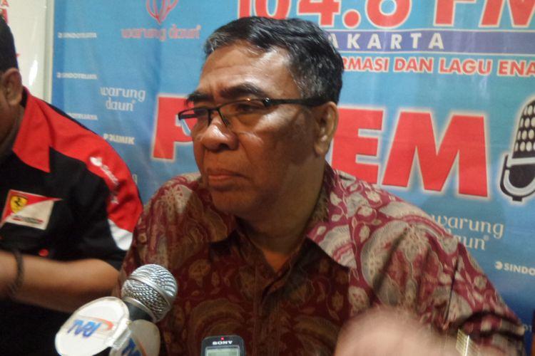 Wakil Ketua Komisi VIII DPR Sodik Mudjahid di Cikini, Jakarta Pusat, Sabtu (12/8/2017).